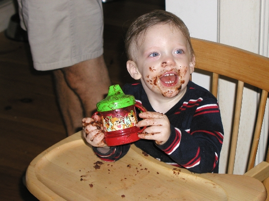 Zeke <b>likes</b> chocolate cake!